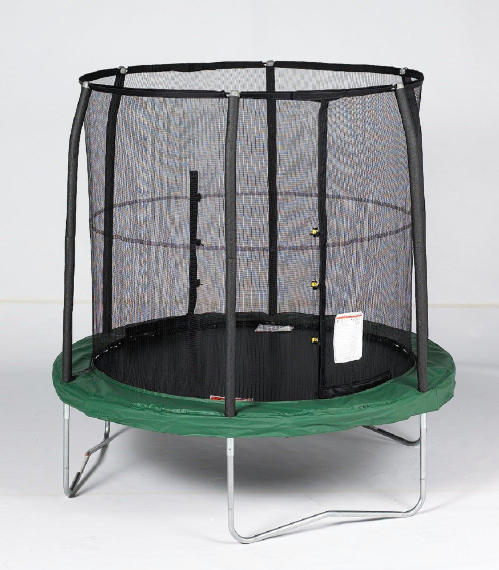 BAZOONGI 7.5' JUMP POD TRAMPOLINE AND ENCLOSURE BZJP7506