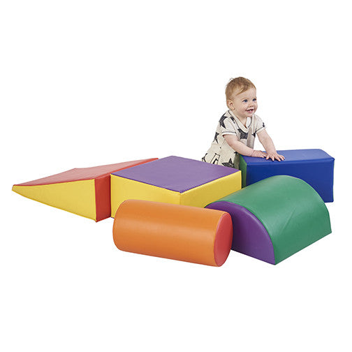 ECR4Kids SoftZoneå¨ Climb and Crawl Play Set (ELR-12683)