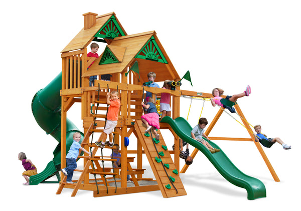 Gorilla Playsets Great Skye I Swing Set w/ Amber Posts (01-0030-AP)