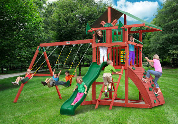 Gorilla Playsets Highcrest Swing Set (01-0079)