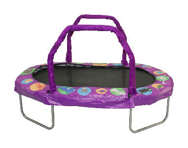 "Jumpking Mini Oval  38"" X 66"" Trampoline With Purple Pad Jk3866Pr"