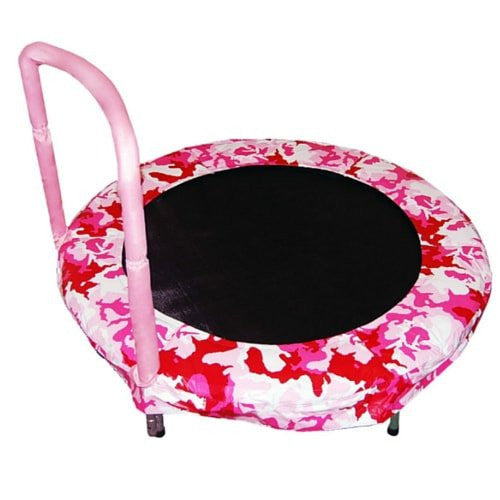 "Jumpking 48"" Bouncer Trampoline Camoflouge Pink With New T-Connector Jk48Cp"