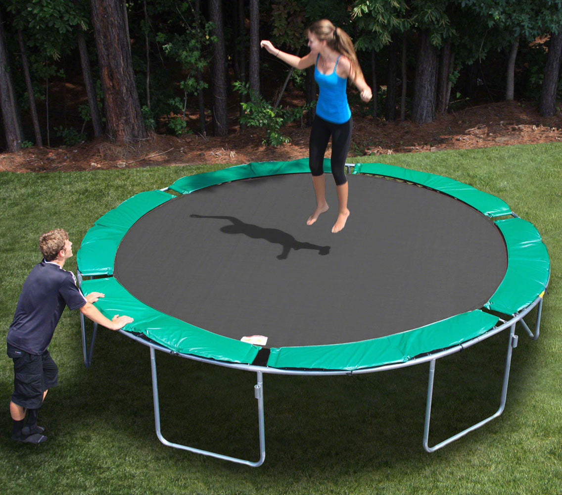 KidWise Magic Circle 13'6 Round Trampoline without Safety Cage (MCT-13.5R)