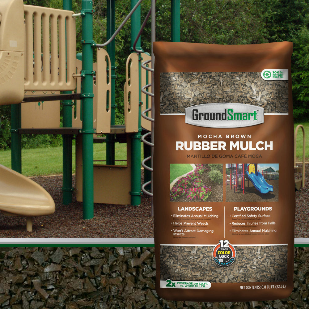 GroundSmart Safe Rubber Mulch - 1000 LB - 2000LB