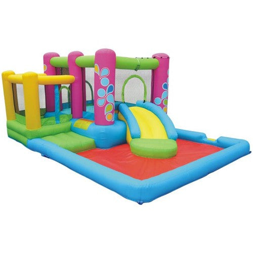 KidWise Little Sprout All-In-One Bounce 'N Slide Combo (KWPH-0108)