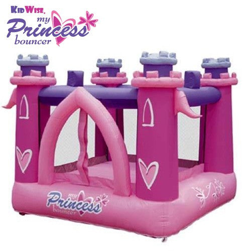 KidWise My Little Princess Bouncer - Inflatable Bounce House (KWSS-LP-901)