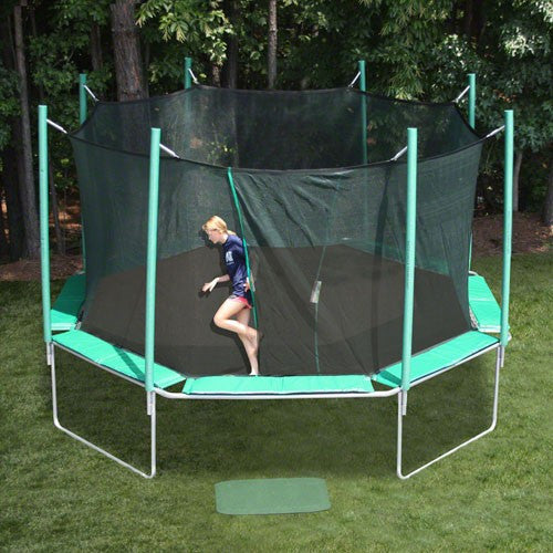 KidWise SportsTramp Extreme 16' Octagon Trampoline with Detachable Cage (STE-16-OC)