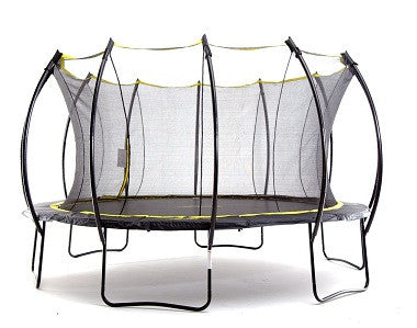 SkyBound Stratos 14ft Round Trampoline with Full Enclosure (SB-T14STR01)