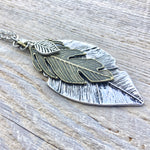 Feather Pendant Necklace