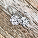 Stainless Steel Lightweight Filigree Earrings