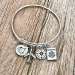 Explore Travel Bracelet Bangle