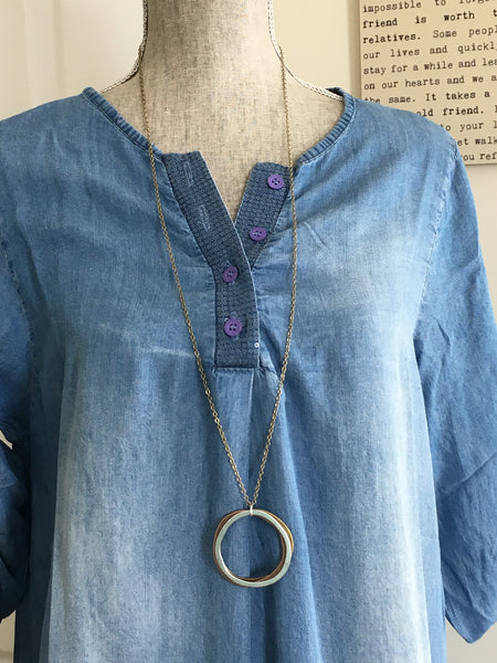 Simple Circles necklace