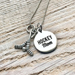 Hockey Mom Charm Necklace