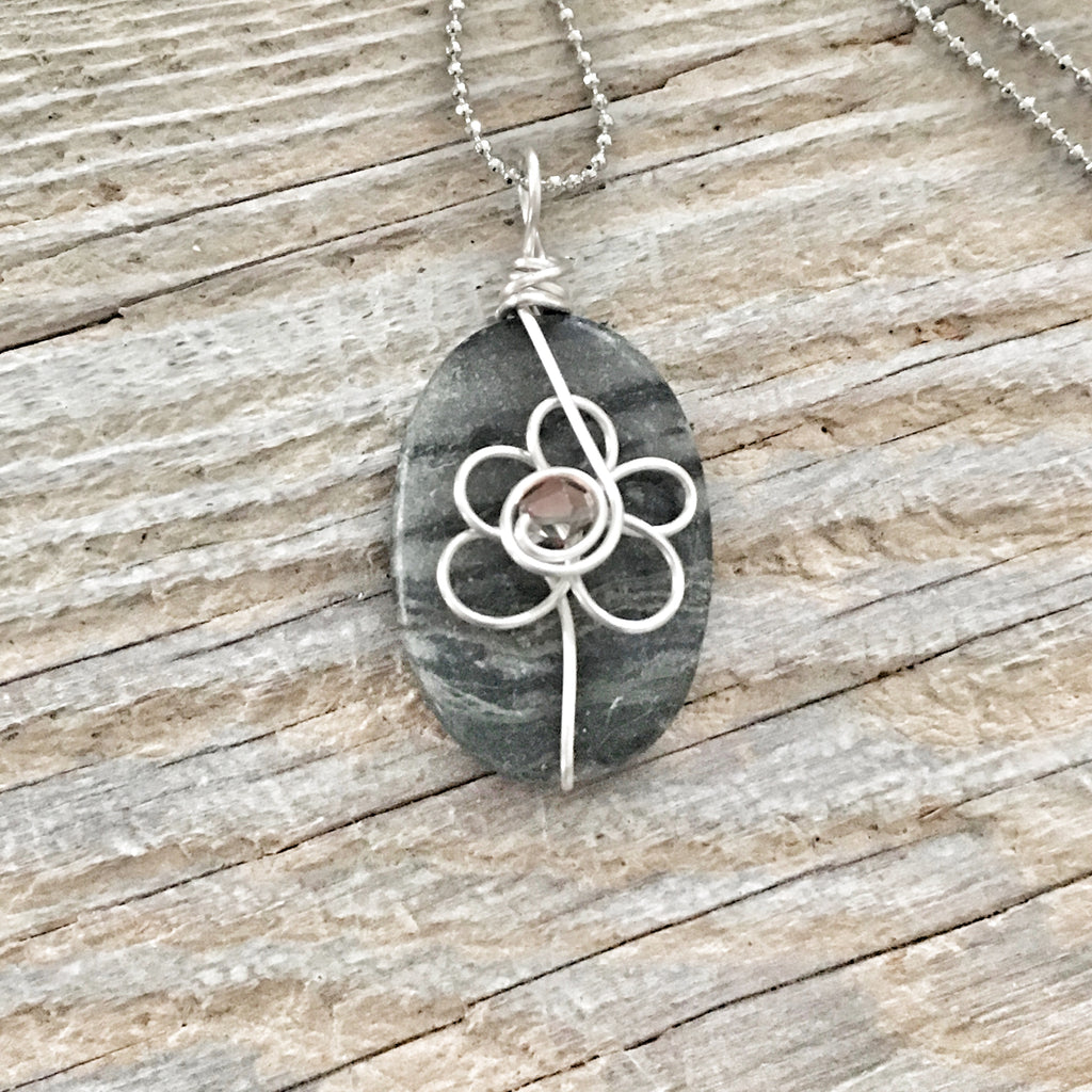 Wire Wrapped Necklace