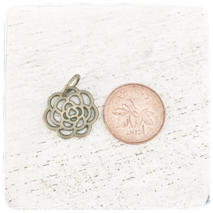 Flower - Small Multi Petal - Charm