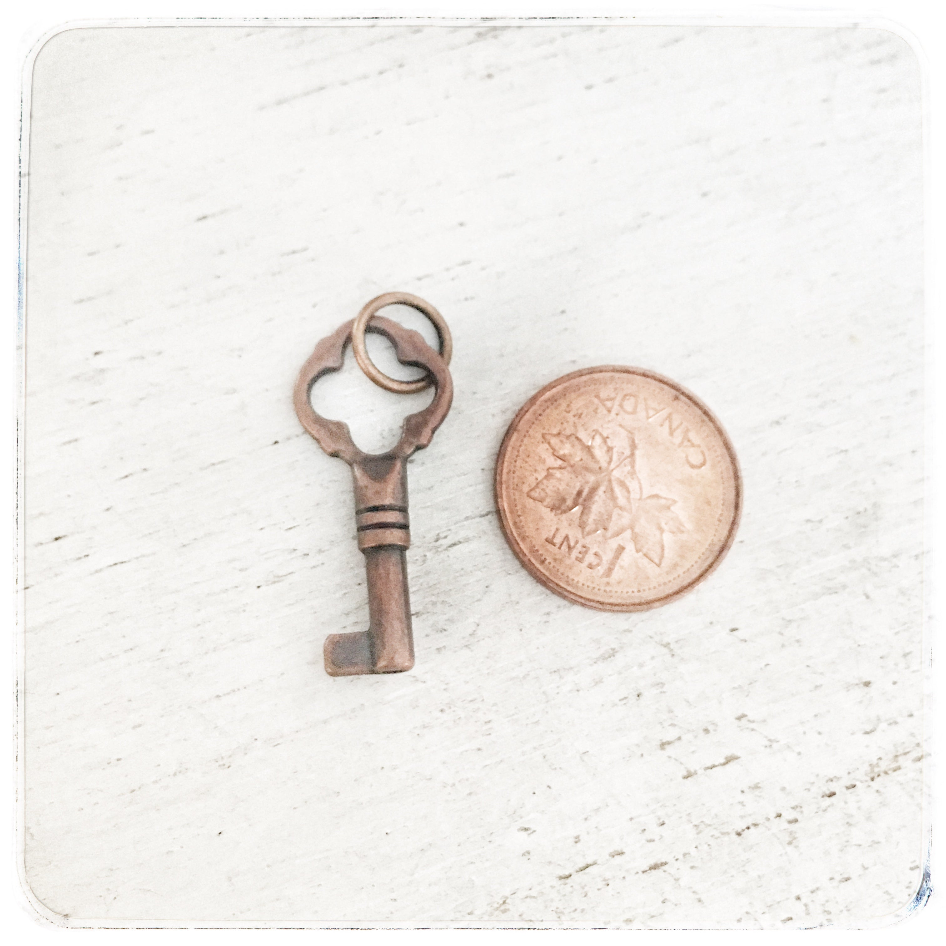 Antique Key - small - Charm