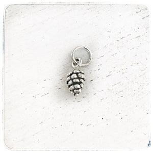 Pinecone -Small- Charm
