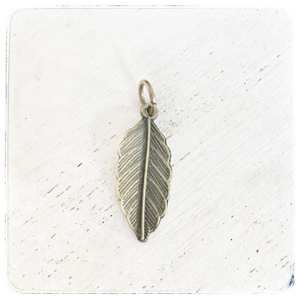 Small Feather - Charm
