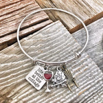Life is Better at the Cottage Bracelet Bangle