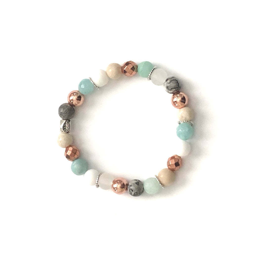 Happy Bracelets - rose gold combinations