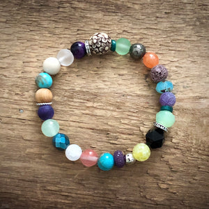 Happy Diffuser Bracelets - new fun Spring colors! Boho
