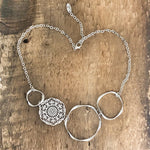 Filigree Hoop Bib Necklace