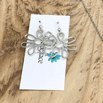 Breathe Flower Earrings