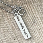 Simple Teacher necklace