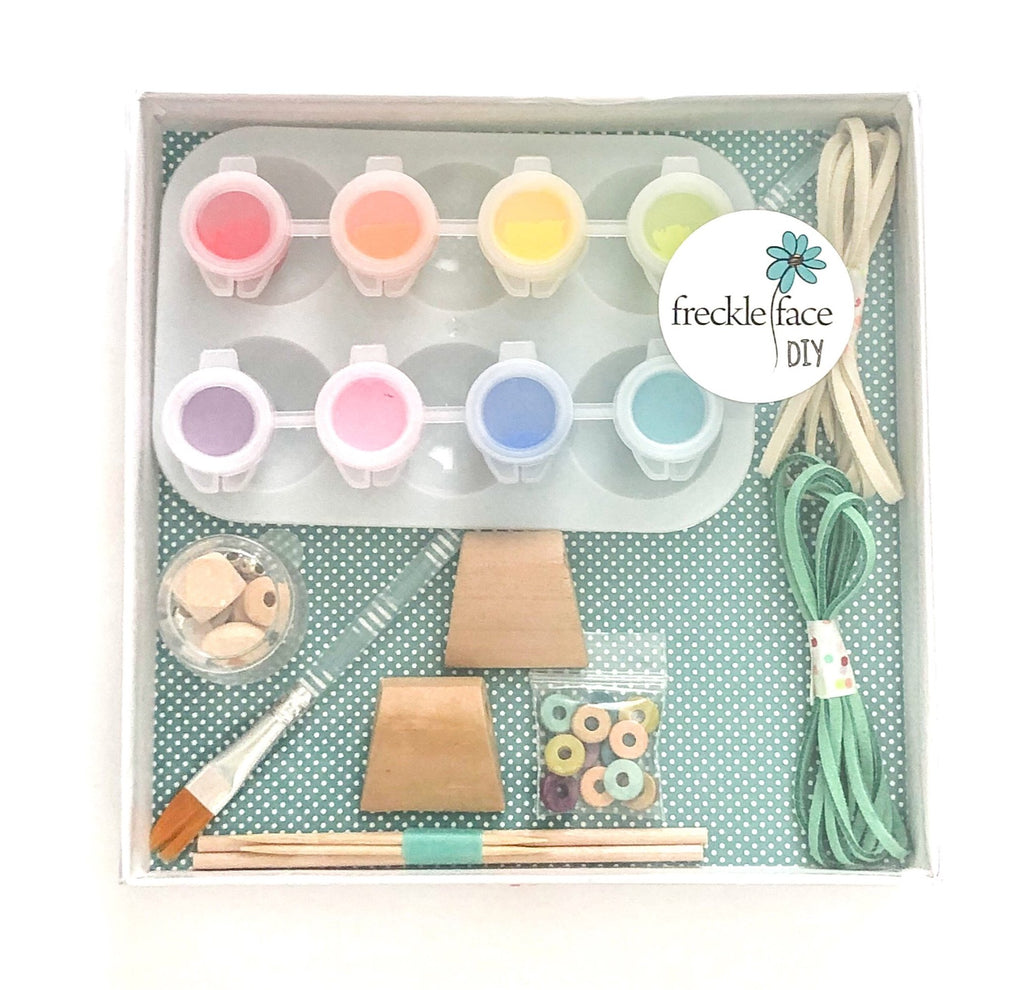 DIY - paint your own necklace kit