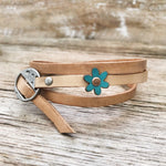 Adjustable Leather Wrap Bracelets
