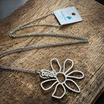 Breathe Flower Long Necklace