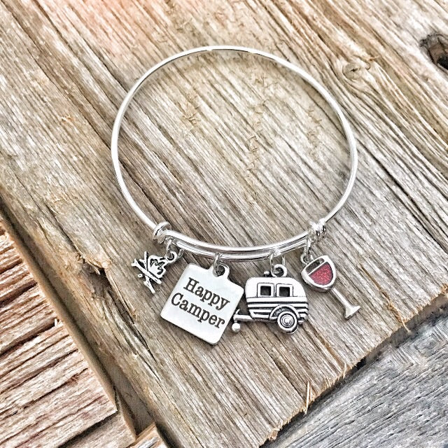 Happy Camper Bracelet Bangle