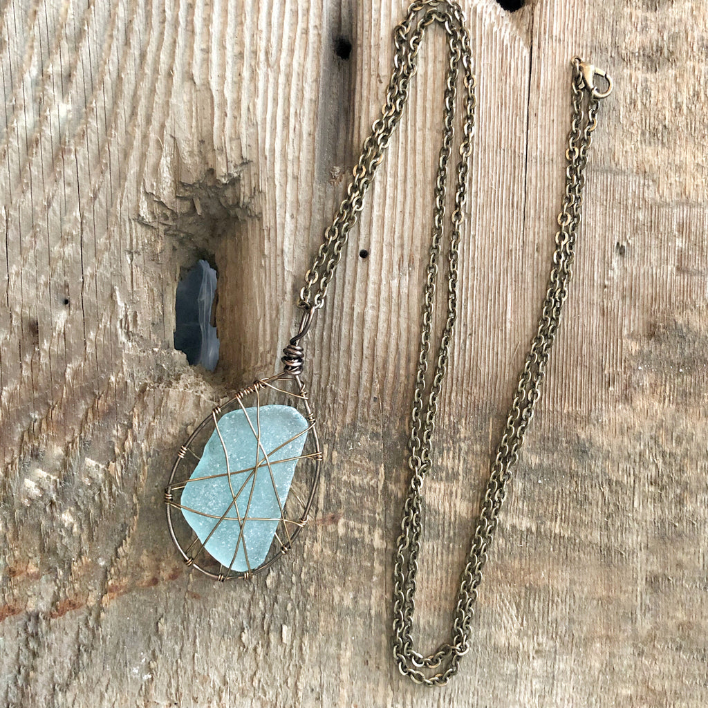 One of a Kind Sea Glass Necklaces