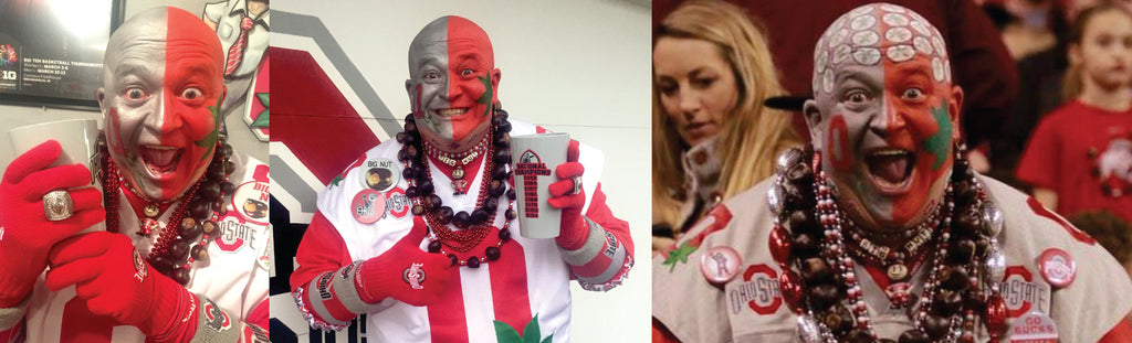 The Ohio State Super Humanitarian Disguised as a Super Fan