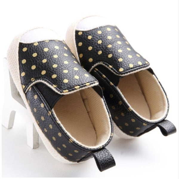 Black & Gold Loafers - Tiny Stars Boutique