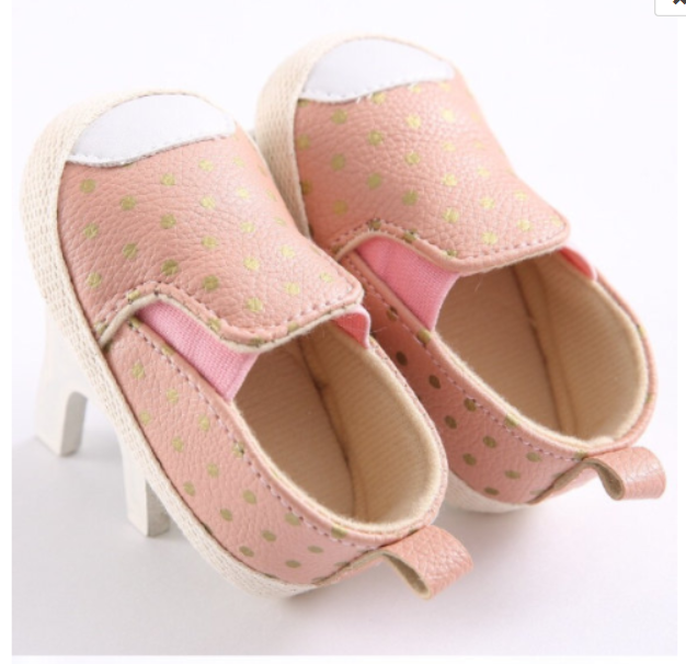 Pink and Gold Loafers - Tiny Stars Boutique