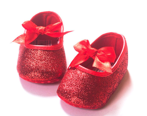 Snow White Baby Girl Red Shoes - Tiny Stars Boutique