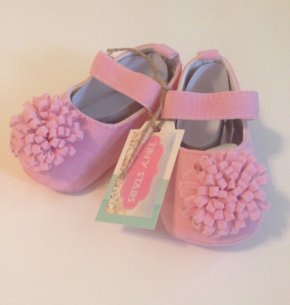 Pink Baby Girl Shoe - Tiny Stars Boutique