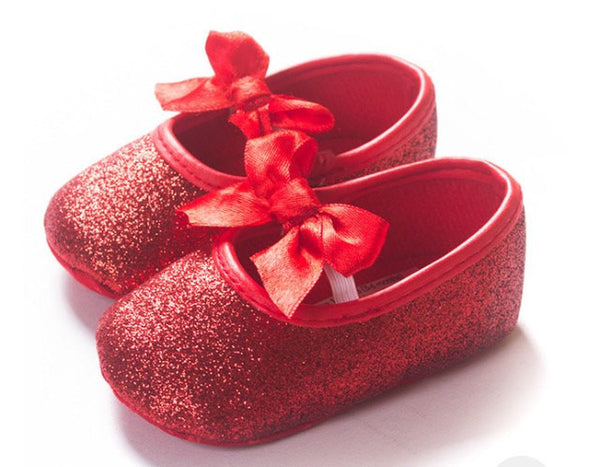 Baby Girl Red Shoes - Tiny Stars Boutique