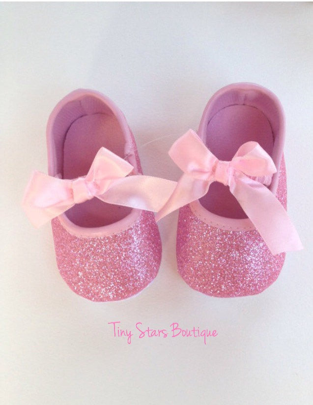 pink baby shoes baby shoes glitter baby shoes glitter shoes pink