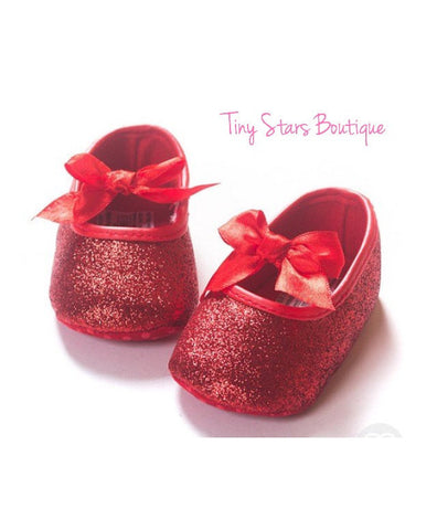 Red Baby Shoes - Tiny Stars Boutique