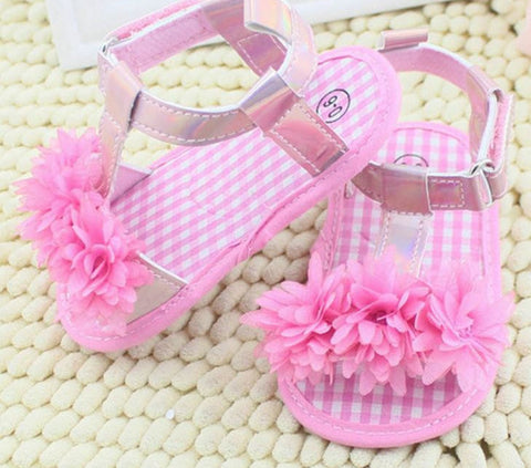 Baby girl Pink Sandals - Tiny Stars Boutique