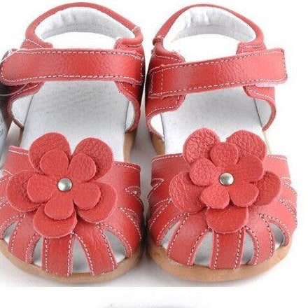 Red Girl shoes, Baby Red shoes, Girl Leather Sandals, Girl Sandals, Baby Shoes, Girl Shoes, Girls Genuine Leather Sandals, baby girl outfit - Tiny Stars Boutique
