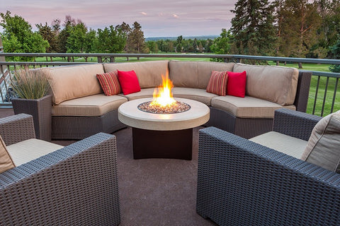 Oriflamme Fire Tables & Accessories - Best Outdoor Furniture Brands 2018 - Euroluxpatio.com