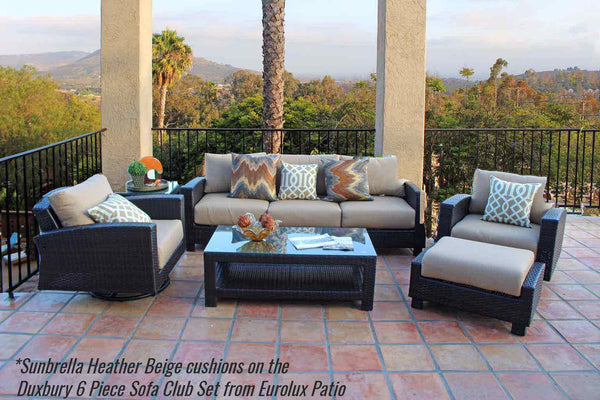 outdoor patio furniture sunbrella fabric