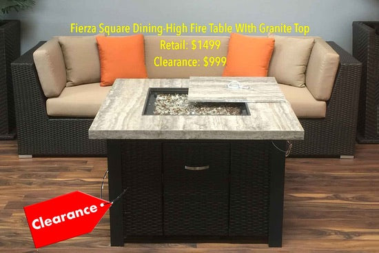 Clearance And Super Sale Patio Furniture Items Available At Our San Diego  County Store And Showroom. Limited Quantities In Stock.