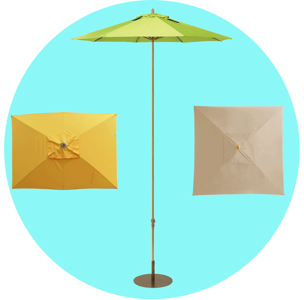 Patio Umbrella Sizes & Shapes
