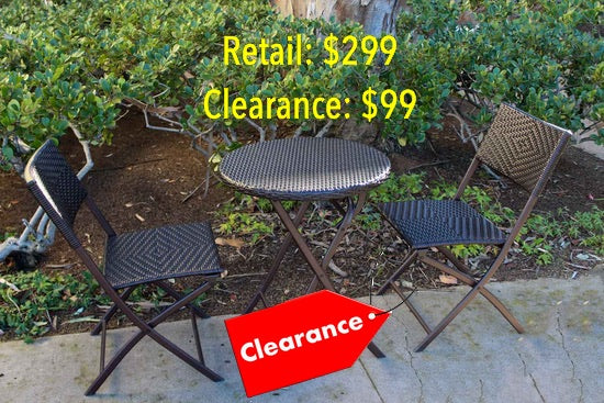 Beau Clearance And Super Sale Patio Furniture Items Available At Our San Diego  County Store And Showroom. Limited Quantities In Stock.