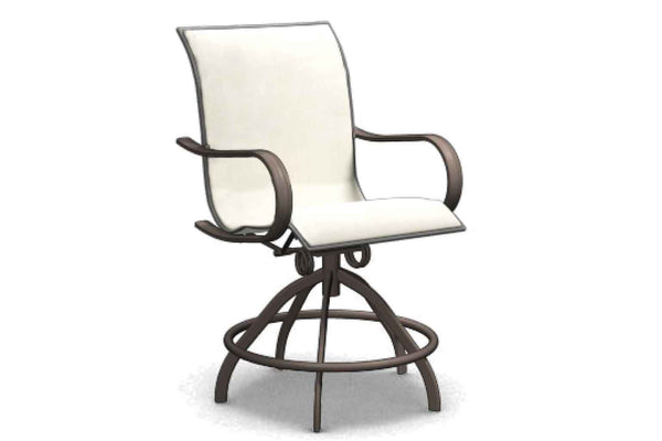 Holly Hill Swivel Rocker Balcony Stool