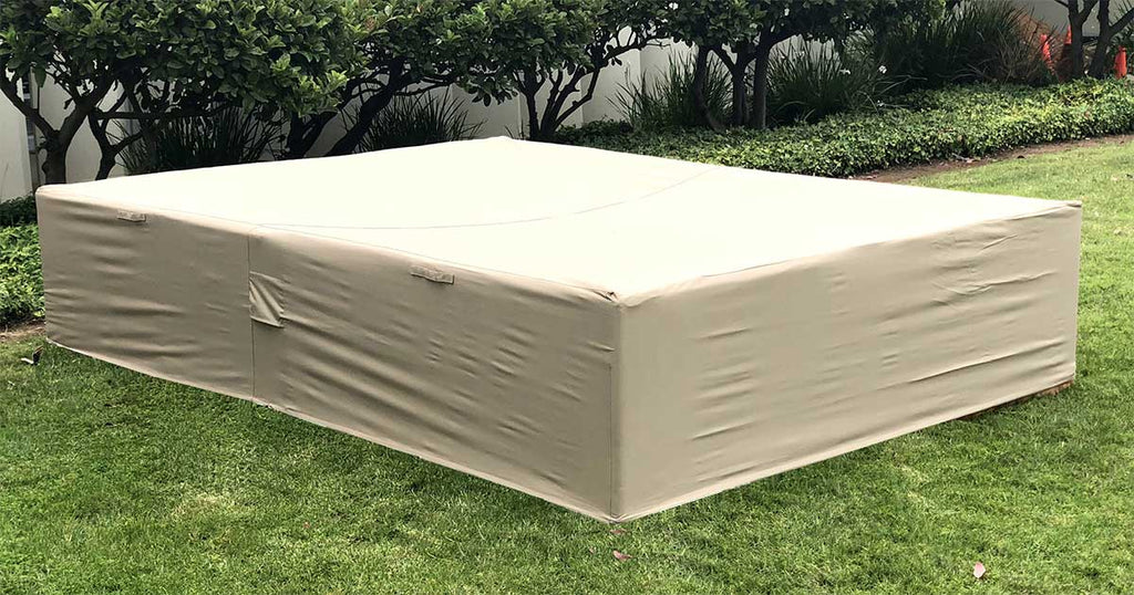 Outdoor Sectional Patio Cover 98-126-27 Inches ...